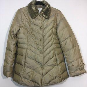 Ann Taylor LOFT Puffer Coat Women Size 2